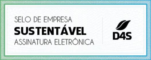 Selo de empresa Sustentável assinatura eletrônica